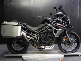 17/17 TRIUMPH TIGER 800 XCX LOW WITH BIG BIG SPEC 2,700 MILES