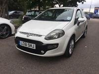 2012 Fiat Punto Evo 1.2 8v ( s/s ) MyLife White