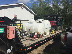 Oil / Gas lease spraying equipment