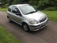 2004 54 PLATE TOYOTA YARIS T2 1.0 VVT 3 DR HATCH WITH POWER STEERING