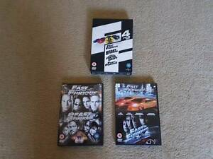 Fast and the Furious - 4 Film DVD Box Set Ferntree Gully Knox Area Preview