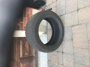 1 Dunlop winter sport 245 50 18 tire