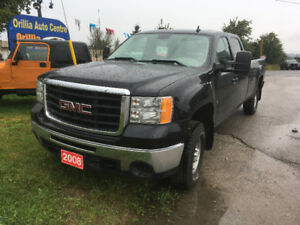 2008 GMC Sierra 2500 4x4 **CREW CAB, 8FT BOX**