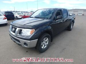 2012 NISSAN FRONTIER SV CREW CAB 4X4 A