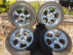 CS4 Cooper Touring Tires on Chrome Mags