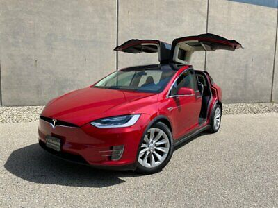 2016 Tesla Model X 90D 2016 Tesla Model X 90D Like S P90D P100D 100D - RARE RED - LOW Miles !