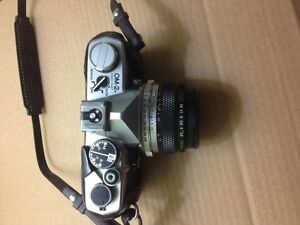 Olympus OM-2N 35mm SLR Camera with case Cambridge Kitchener Area image 2