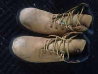 Size 12 steel toe work boots