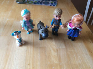 Frozen doll collection