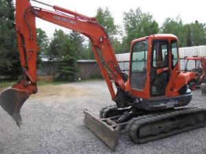 Kubota Kx 161-3 with cab low hrs excavator