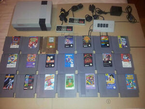 NES Nintendo System and Games. Prices are Firm Thanks