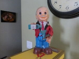 Antique  toy Bartender. In Fort Saskatchewan
