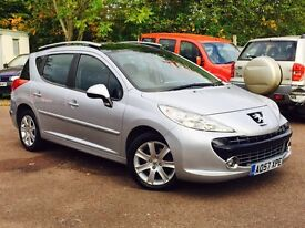 PEUGEOT 207 SW 1.6 HDI MINT RUNNER FULL HISTORY FREE DELIVERY 1895