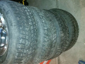 265-75-16 Studded Winter Tires