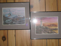 FRAMED PRINTS OF ATLANTIC CANADA