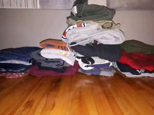 Brand Name Mens Clothing: Size Small-Large