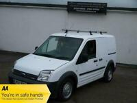 07 FORD TRANSIT CONNECT 1.8 TDCI T220 LX PLUS SWB LOW TOP ROOF RACK WHITE VAN !!