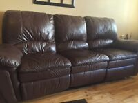 CANAPÉ VRAI CUIR 400$ | REAL LEATHER COUCH ONLY 400$