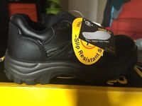 Brand new steel toe safety shoes