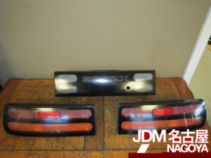 JDM 90-96 Nissan 300ZX Fairlady Z Rear Oem tail lights & Garnish