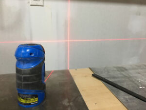 Mastercraft cross line laser level