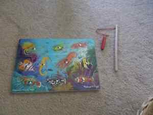 I have 2 magnetic fish puzzles. Mellisa and Doug