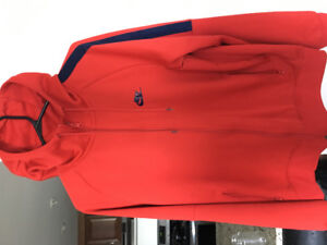 Large red Nike hoodie for sale