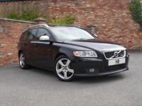 2011 Volvo V50 Estate 2.0D3 150 DPF EU5 R DESIGN Edition 6Spd Diesel black Manua