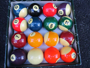 billiard balls vintage Kitchener / Waterloo Kitchener Area image 1