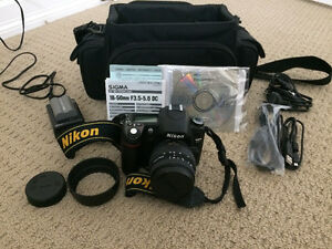 Nikon D80 Digital Camera full kit