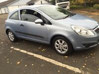 Vauxhall corsa 57 plate low insurance. Any inspection
