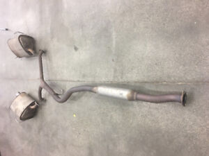 2015 subaru OEM WRX STI Air in take and exhaust for sale
