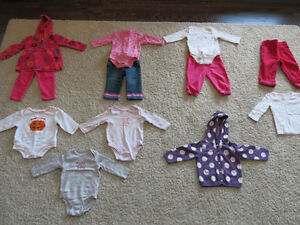 Size 12-18 Months Fall and Winter Clothes for Girls