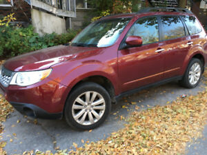 2011 Subaru Forester X Touring Manuelle