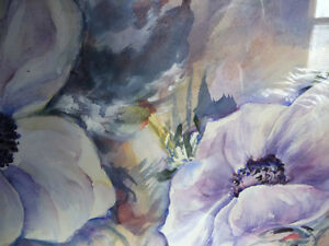 "Floral, Still Life, Original Watercolor by Gina Boyle ""Poppies"" Stratford Kitchener Area image 9"