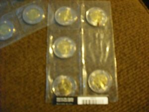 Wait for me Daddy set of 5 toonies. Untouched. MINT