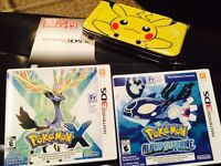 Nintendo 3DS XL with games+