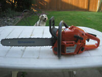 "Husqvarna Chainsaw 50cc  18"" Bar"