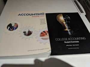 College Accounting Volume 1 For HUMBER COLLEGE