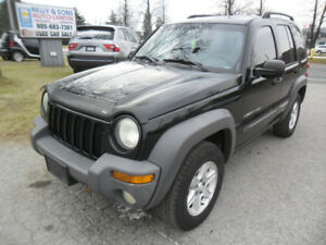 "2003 Jeep Liberty Sport""WOW"" ***certified+FREE 6 month warranty"