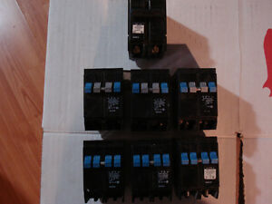 Breakers Eaton Cutler-Hammer plug in duplex/quad replacement