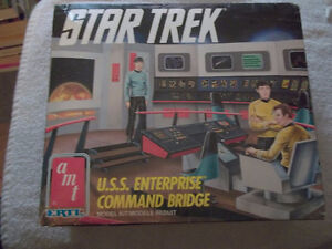 old star trek u.s.s enterprise model kit open to offers