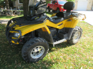 CAN-AM 800R - 2011- $8000 - Will trade for Pontoon Boat