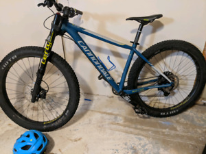 2017 Cannondale beast of the East 1. 27.5 tire