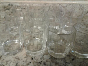 12 Glass Cups