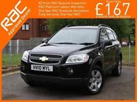 2010 Chevrolet Captiva 2.0 VCDI Turbo Diesel LT 5 Speed 4x4 4WD Air Conditioning