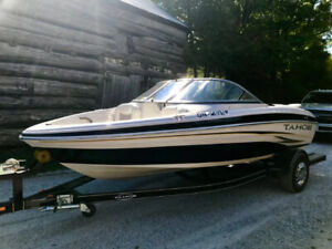 2008 Tahoe Q4 Sport Boat and Trailer