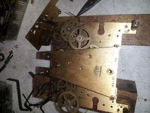Horloger répar. horloge antic mécanique estimé a la maison