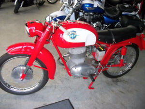 **WANTED** 1950's - 1960's MV AGUSTA MOTORCYCLE