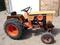 petit tracteur CASE